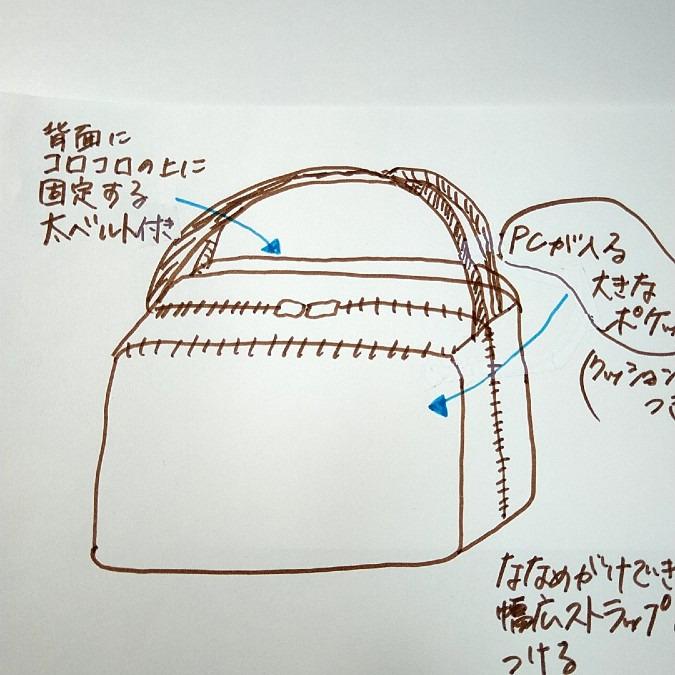 旅行用キャリーオンバッグ