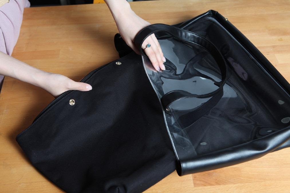痛バッグはバッグインバッグを採用!